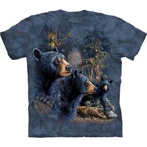 Tričko Nájdi 13 čiernych medveďov - detské