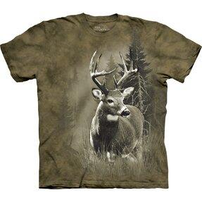 T-Shirt Vorsichtiger Hirsch
