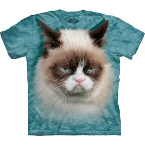 Kids' T-shirt Grumpy Cat