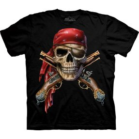 Kinder T-Shirt Piratenschädel