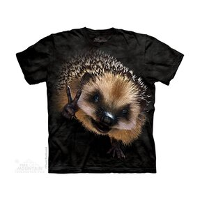 Kinder T-Shirt Frieden Igel