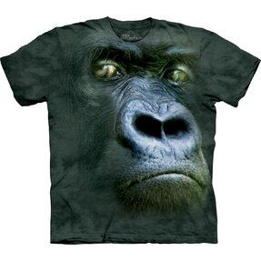 Tričko Portrét gorily - dětské