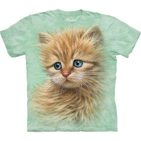 Kinder T-Shirt Kätzchen Porträt