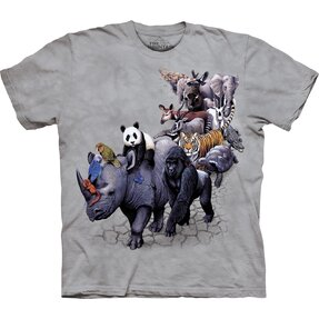 Kinder T-Shirt Tierbeschau