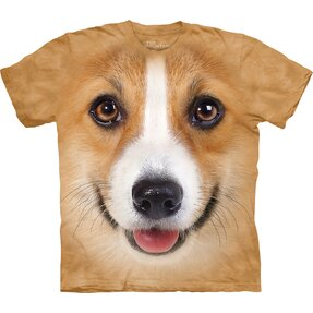Corgi Dog Face Adult
