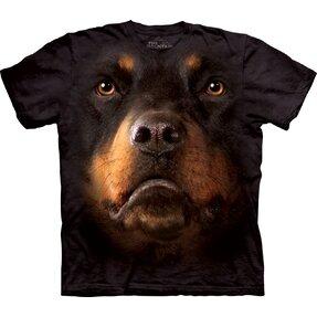 T-Shirt Rottweiler Gesicht