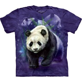 Kinder T-Shirt Panda-Collage