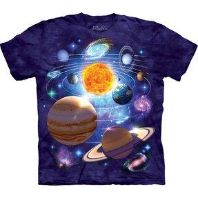 Tričko Sluneční soustava 2 - dětské