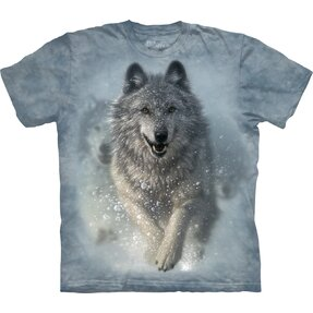 Kinder T-Shirt Schneewolf