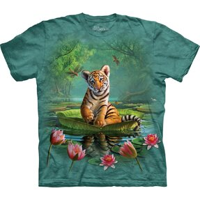 Kinder T-Shirt Tiger Lily