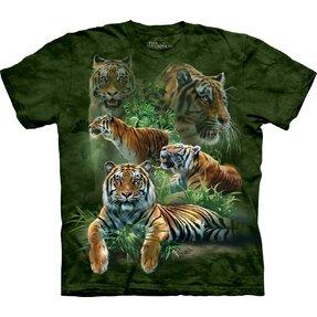 Tričko Tigre z džungle – detské
