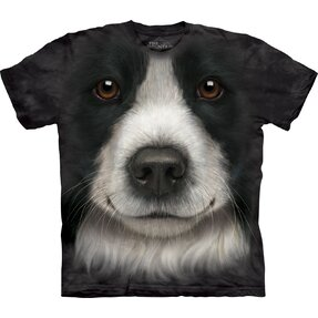 T-Shirt Border-Collie Gesicht