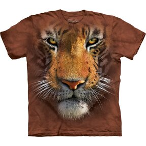 Kinder T-Shirt Tigergesicht