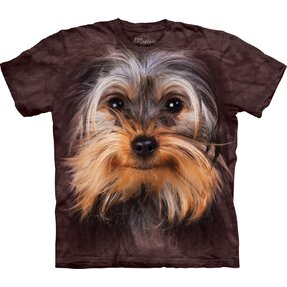 T-Shirt Yorkshire Terrier Gesicht
