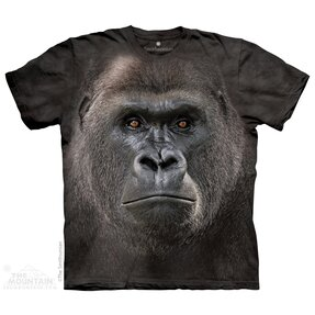 Kinder T-Shirt Grosses Gorillagesicht