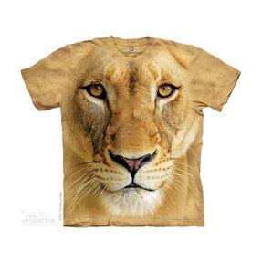 Kinder T-Shirt Großes Löwengesicht