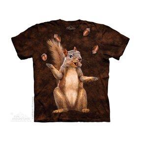 Tričko Veverička s orieškami - detské