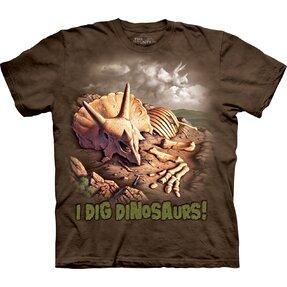 Tričko Vykopal jsem dinosaura - dětské