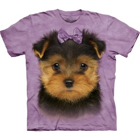 Kinder T-Shirt Yorkshire Terrier Welpe