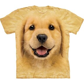Kinder T-Shirt Golden Retriever Welpe