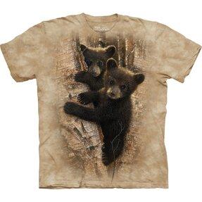 Tričko Zvedavé medvedie mláďatá - detské