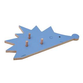 Vešiak ježko FOGO - modrý