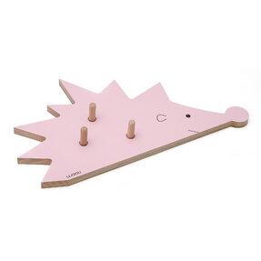 Věšák ježek FOGO - růžová