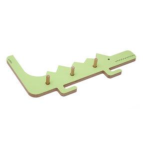 Cuier crocodilul DINO - verde