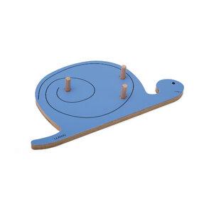 Coat Rack Snail FELIX - blue