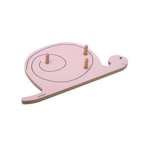 Cuier melcul FELIX - roz