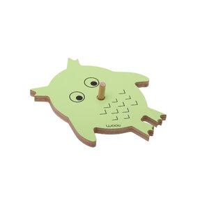 Coat Rack Owl VICKY - green