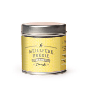 Insect Repellent Candle in Tin Citronella