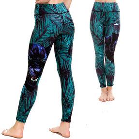 Női sportos elasztikus leggings Puma az őserdőben
