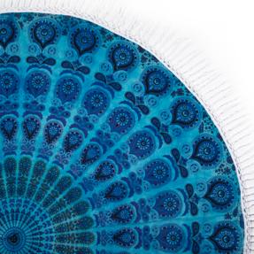 Bavlnená mandala Morské oko