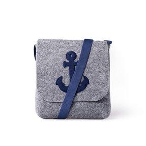 Magnet kis táska - Horgony