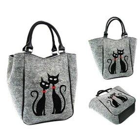 Kabelka do ruky Piknik - Dvě Kočky