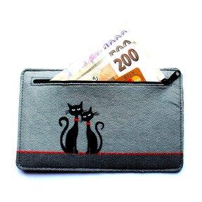 Pénztárca -Két macska