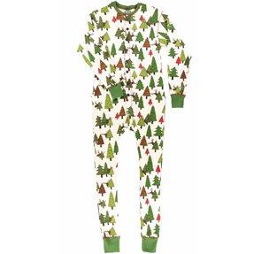 Kezeslábas pizsama Rudolf piros orral