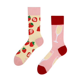Good Mood Socks - Champagne & Strawberry
