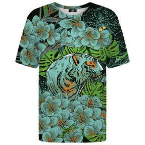Tričko s krátkým rukávem Modrý tygr