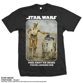 T-Shirt Star Wars Droids