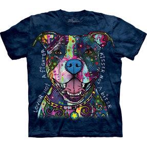 Tričko Russo Pit Bull milovník - detské