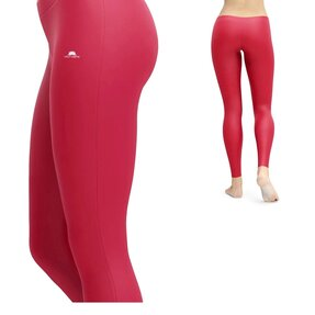 Damen Leggings Einfach Rot