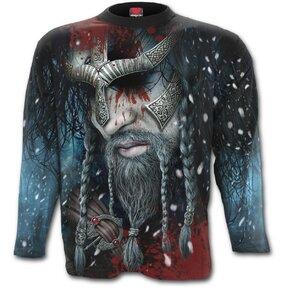 Tričko s dlouhým rukávem Vikingové Hrdina