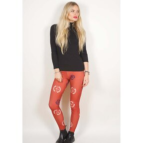 Damen Leggings Avenged Sevenfold Death Bat