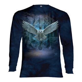 Tričko s dlhým rukávom Magická sova