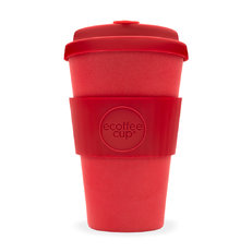 Bambus Ecoffee Cup rot