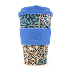 Bambusz ecoffee cup Lilly William Morris