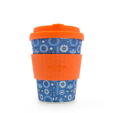 Bambusz ecoffee cup Éjjeli virágok