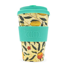Bambusz ecoffee cup Pomme William Morris